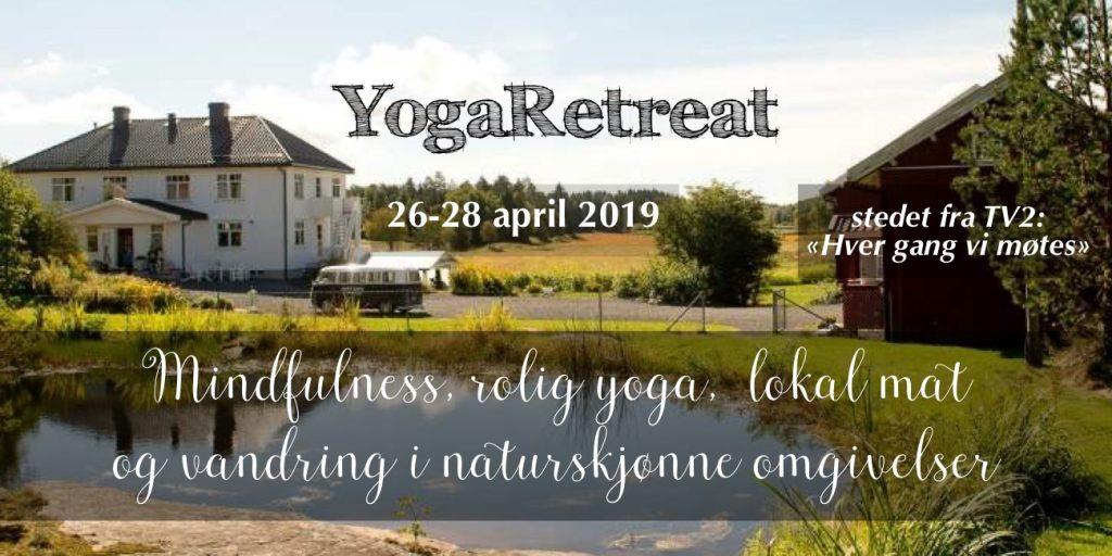 YogaRetreat på vakre Vestre Kjærnes gård, Våler. Les mer her